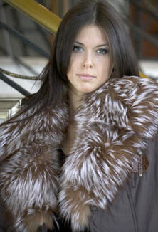 Jacket with fur - style 900