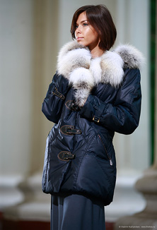 Jacket with fur - style 610