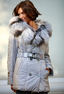 Jacket with fur - style 617