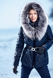 Anorak with fur - style 64