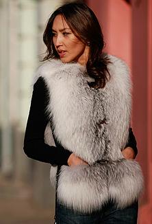 Fur vest - style 902 v