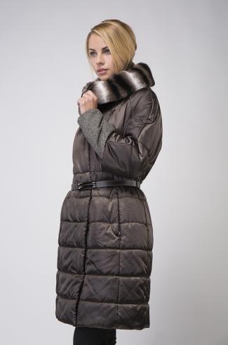 kabát s kožešinou / model 220