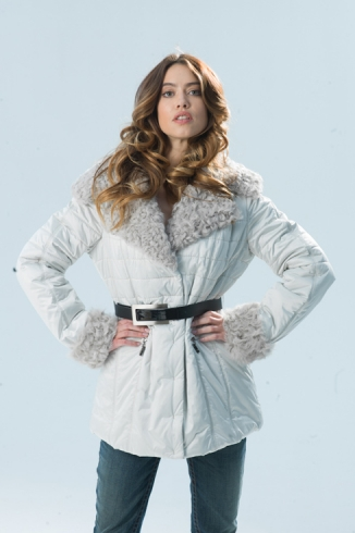 Anorak with fur - style 716