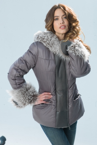 Anorak with fur - style 719