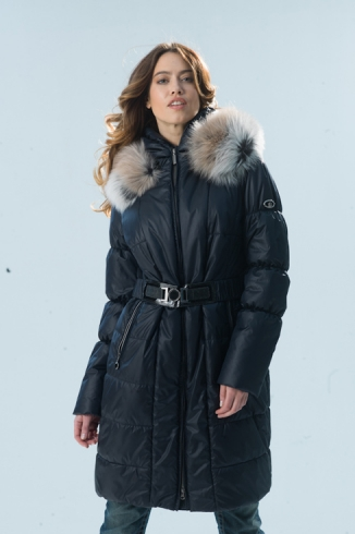 Coat with fur - style 73