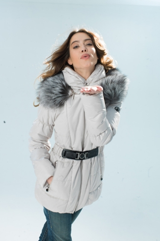 Anorak with fur - style 732