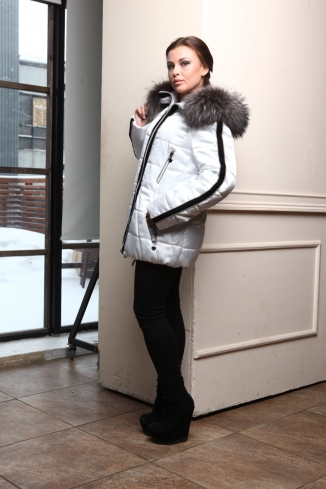Anorak with fur - style 914